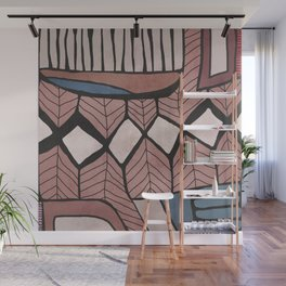 Take a Break. Astract modern painting Wall Mural