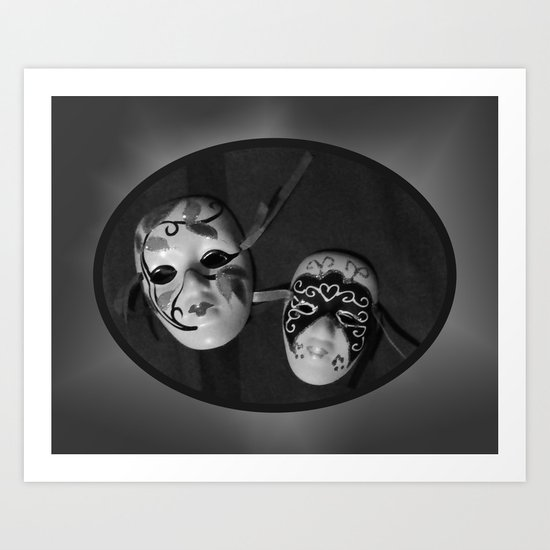 The Masquerade Art Print