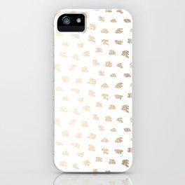 Golden Hot Spots iPhone Case