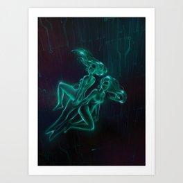 Netrunner: Gemini Art Print