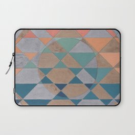 Circles and Triangles Laptop Sleeve