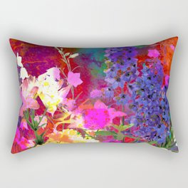Floral chaos Rectangular Pillow