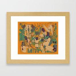 """Beep Boop"" Framed Art Print"