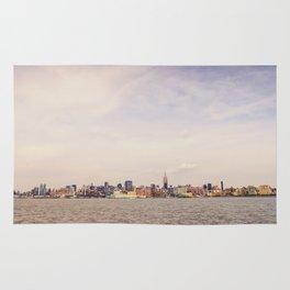 New York City - Skyline Cityscape Rug