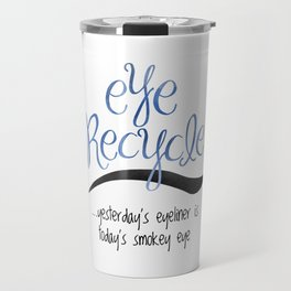 Eye Recycle Travel Mug