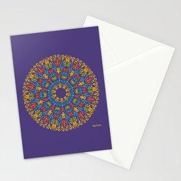 Bienvenida a Marte (Violeta) Stationery Cards