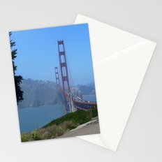 Golden Gate Bridge from the Presidio Stationery Cards