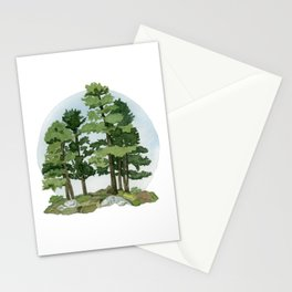 Group of Pines Stationery Cards