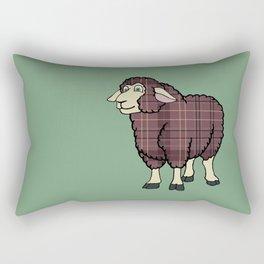 Williams Tartan Sheep Rectangular Pillow