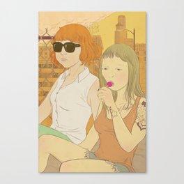 Urban Girls Canvas Print