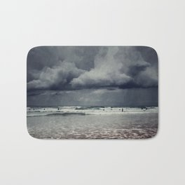 elemental - surf and clouds Bath Mat