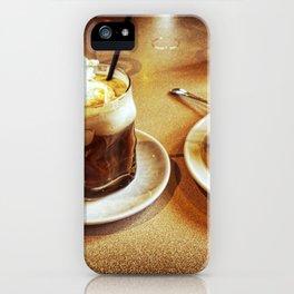 Sabor a chocolate iPhone Case