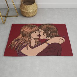 The Kiss - Pride & LGBTQ+ Artwork Rug
