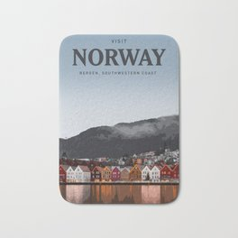 Visit Norway Bath Mat