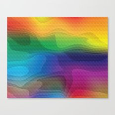Psychedelic Land Canvas Print
