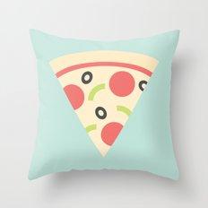 #85 Pizza Throw Pillow