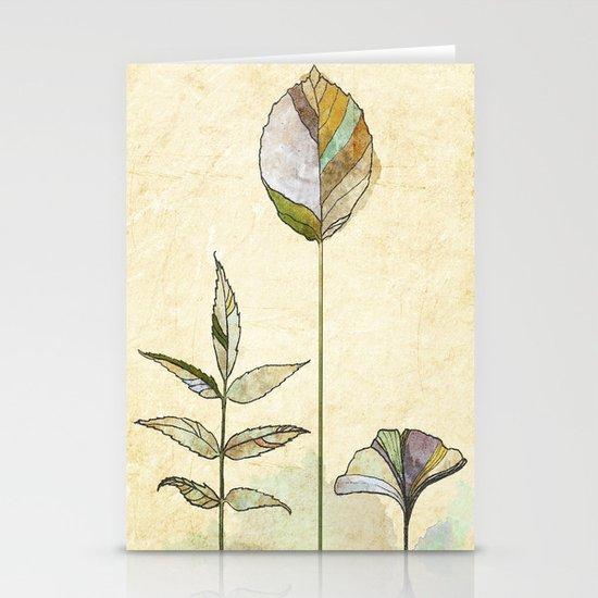 Leaf Study Stationery Cards