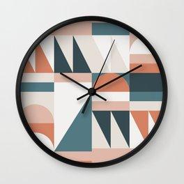 Cirque 06 Abstract Geometric Wall Clock