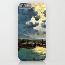 David Young Cameron - Moonlit Marsh - Digital Remastered Edition iPhone Case