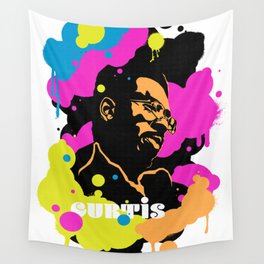 Soul Activism :: Curtis Mayfield Wall Tapestry