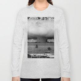 Operation Crossroads: Baker Explosion Long Sleeve T-shirt