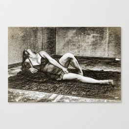 Ex/tasy #1 Canvas Print