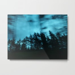 Dark Woods I Metal Print