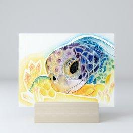 Crystal Turtle Mini Art Print