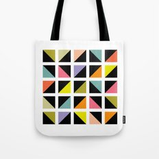 Triangle fragment pattern Tote Bag