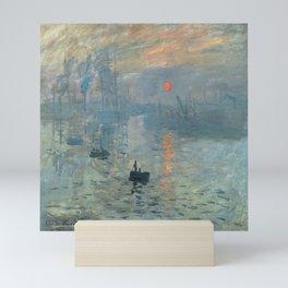 Claude Monet – Impression soleil levant – impression sunrise Mini Art Print