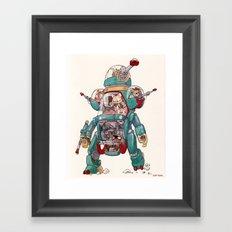 The Tactical Scout Walker Framed Art Print