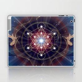 Metatron's Cube - Merkabah - Peace and Balance Laptop & iPad Skin