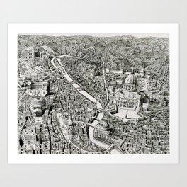 Mini Rome Art Print