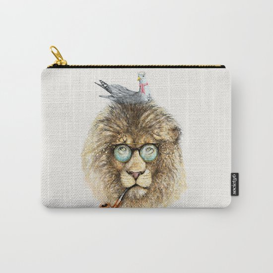 Lion sailor & seagull Carry-All Pouch