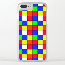 cubo rubik Clear iPhone Case