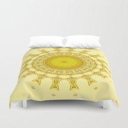 Sunshine Mandala Duvet Cover