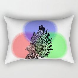 Dancing Sculpture Rectangular Pillow