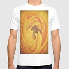 Fill Me Up, Buttercup! White Mens Fitted Tee MEDIUM