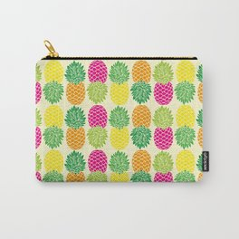 Pineapple Pop Pattern Carry-All Pouch