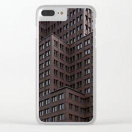 Kollhoff ArchiTextures Clear iPhone Case