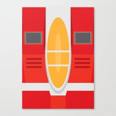 Starscream Transformers Minimalist Canvas Print