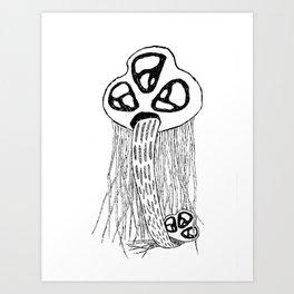 STELLARCREATURES Art Print