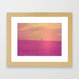 Porto Beach Framed Art Print