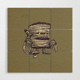 The Mummy Log Wood Wall Art