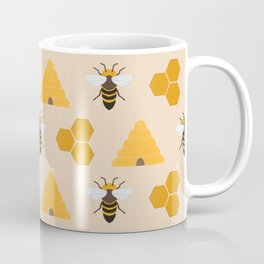 Save the Bees (Cream) Coffee Mug