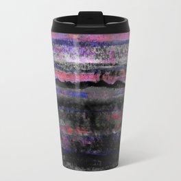 layers in purple Travel Mug