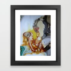 My brain and my ppl Framed Art Print