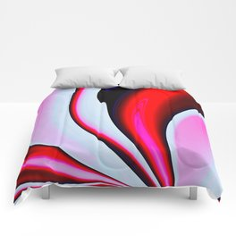 Abstract Fractal Colorways 02BPk Comforters