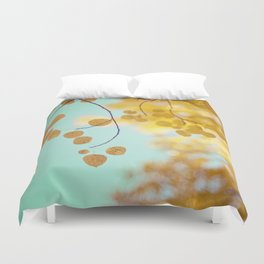 nature's gold Duvet Cover