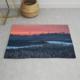 Long Point Sunsets Rug